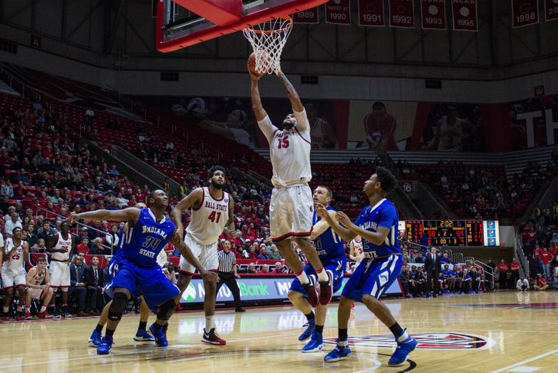 Ball State falls to Alabama in second game of MGM Grand Main Event