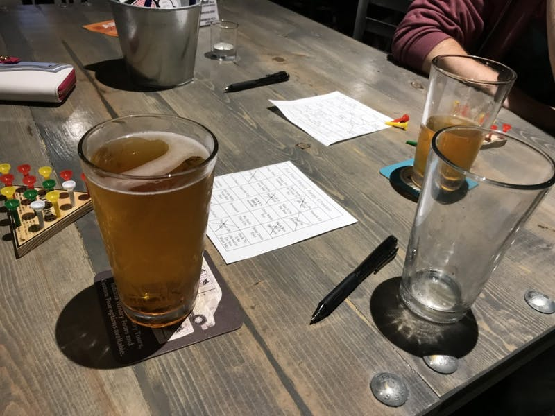Guardian Brewing Company offers new entertainment with 'Music Bingo'