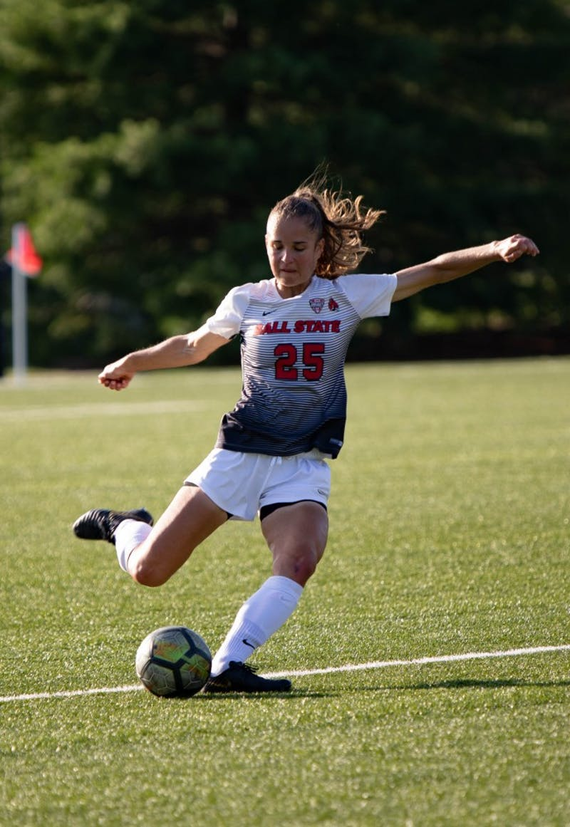 Ball State Soccer's five-game win streak ends in loss to Toledo