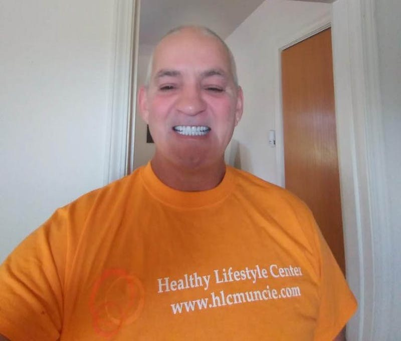 Earl Willson, a Muncie resident, has been using the Healthy Lifestyle Center (HLC) for the past eight months. Willson said he lost 60 pounds using the HLC. Earl Willson, Photo Provided
