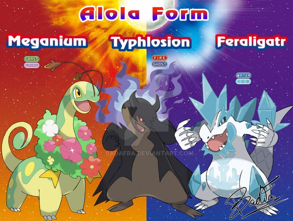 best fake alola forms we wish were in pokemon ultra sun and ultra