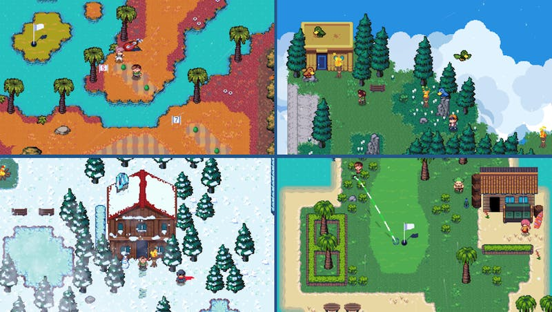 'Golf Story' is a video game made by Telltale Studios' Nintendo Switch. The game takes ideas from both golf games and RPGs. Nintendo Switch, Photo Courtesy