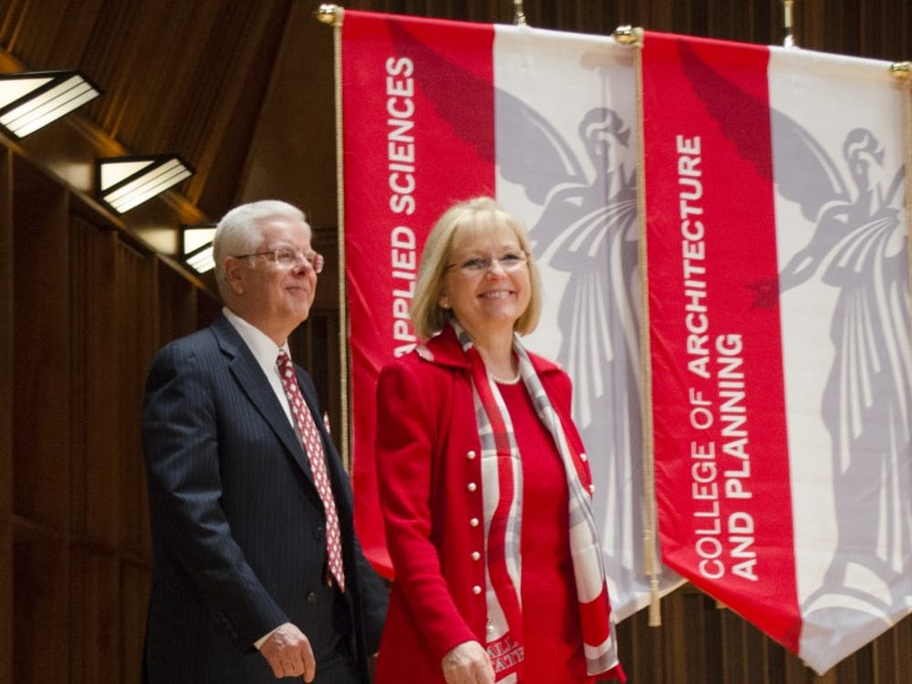 Paul W. Ferguson was named Ball State's 15th presidentMay 22 at Sursa Hall. Currently, he is president at the University of Maine, where he took office March 14, 2011.