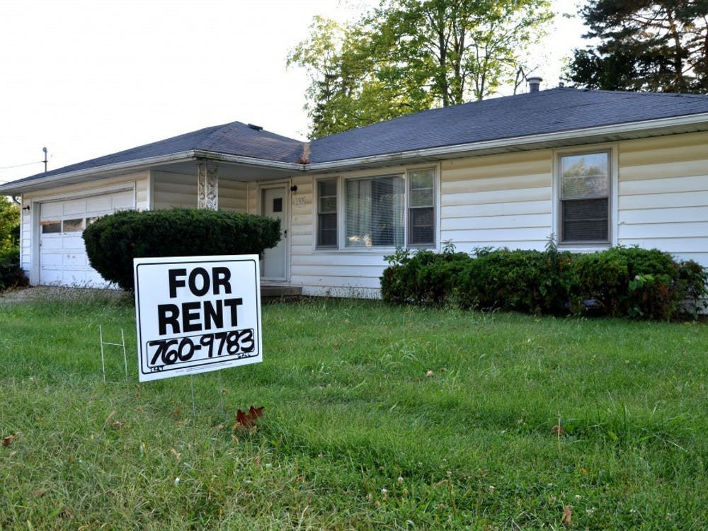 Students looking for a house or apartment for the next year or semester will be able to sign leases soon if not already. Alison Carroll, DN File