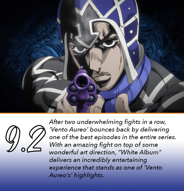 REVIEW: 'Jojo's Bizarre Adventure: Vento Aureo' Episode 19