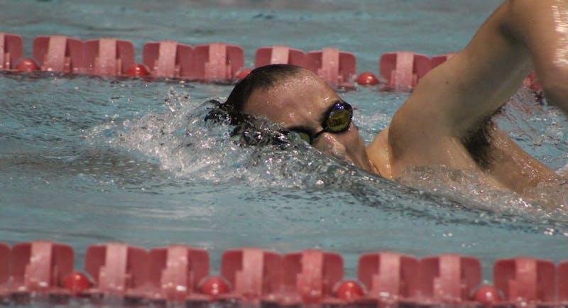 Ball State men's swim and dive beat Evansville behind Lienhart, Ackley, Nondorf's big day