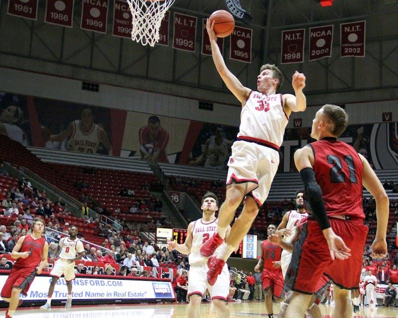 Strong shooting lifts Ball State men's basketball over IU Kokomo