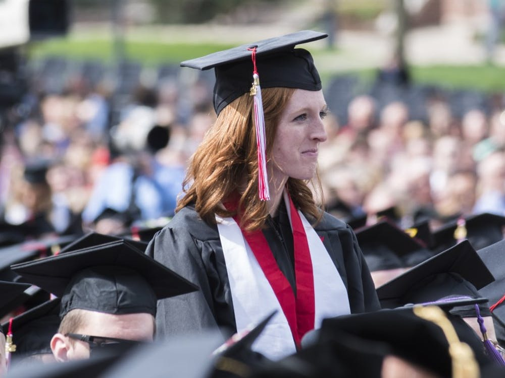 The 2018 Spring Commencement ceremony was held at the Quad area near  the Arts Terrace on May 5, to honor students who completed their degrees. Robert G. Hunt, former CEO of Hunt Construction Group, spoke at the main commencement. Stephanie Amador, DN