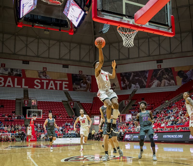 Balanced attack guides Ball State Men's Basketball past UIC