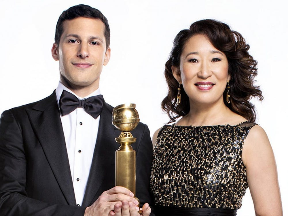 Andy Samberg and Sandra Oh hosted the 2019 Golden Globe Awards. The Golden Globes are just the beginning of a series of award shows happening this year. Trae Patton/NBC/TNS, Photo Provided