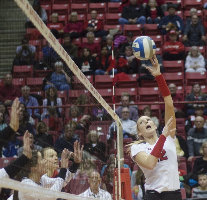 WOMEN'S VOLLEYBALL: Ball State sweeps Toledo