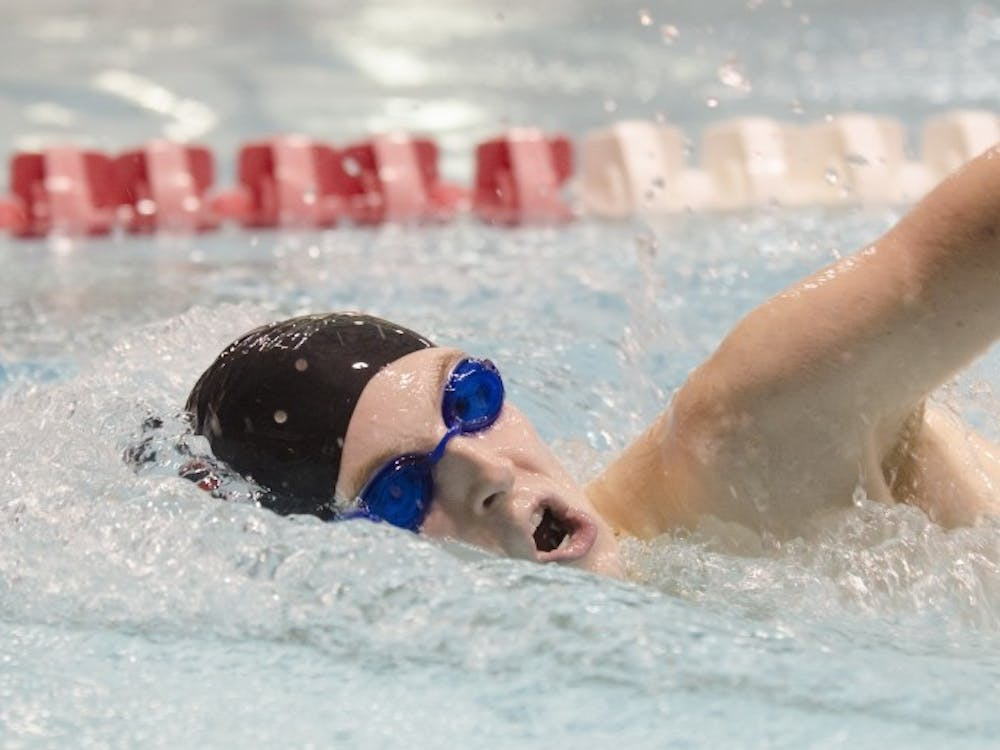 JD Middleton, a senior on the Ball State men's swimming and diving team, starting swimming at 9 years old. Middleton started swimming at the New Castle swim club in elementary school. Breanna Daugherty // DN File