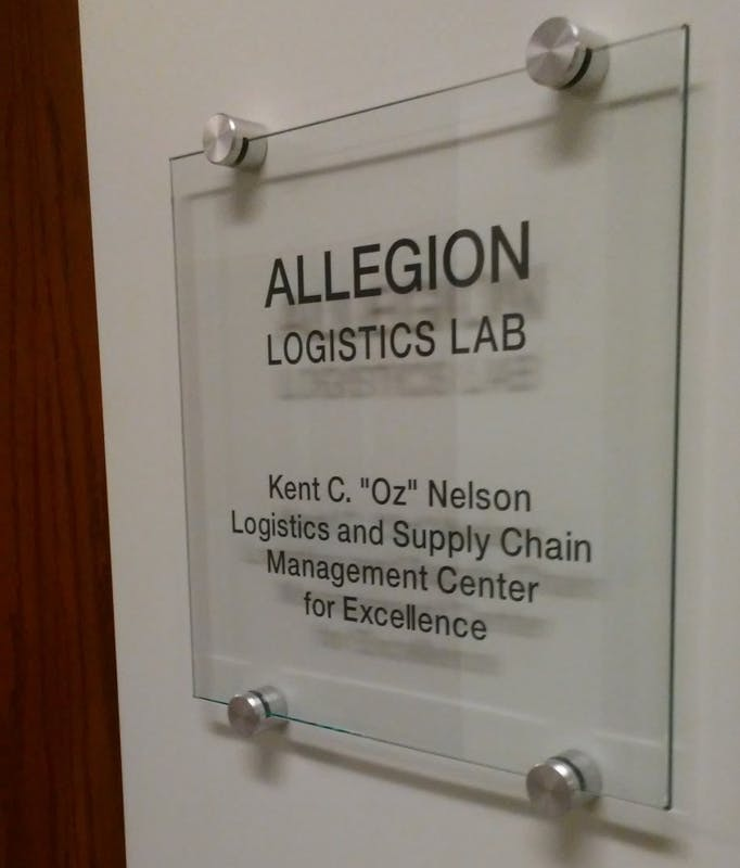 Logistics and supply chain management center dedicated to former UPS CEO, Ball State alumnus