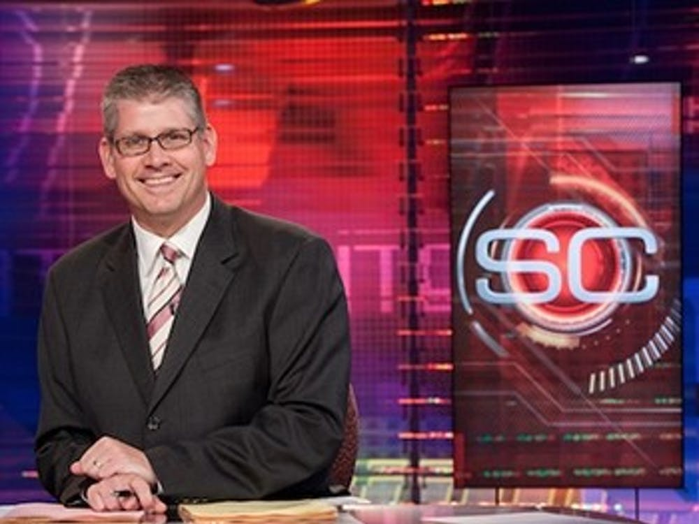 "ESPN's John Anderson is set to give his lecture on ""SportsCenter Stories: Good stories, Great Writing and Do I Have to Wear Pants?"" on March 23 in John R. Emens Auditorium. The original date for the David Letterman Distinguished Professional Lecture and Workshop Series speaker to visit Ball State was on Oct. 13, 2016, but he was forced to cancel ""due to an emergency."" Ball State University // Photo Courtesy"