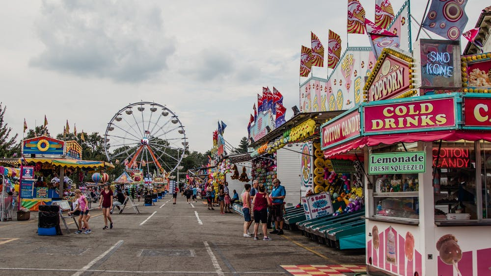 The 2020 Indiana State Fair has been canceled. However, a modified State Fair 4-H Livestock Show with additional activities that will be held on the State Fairgrounds in August. Reagan Allen, DN File