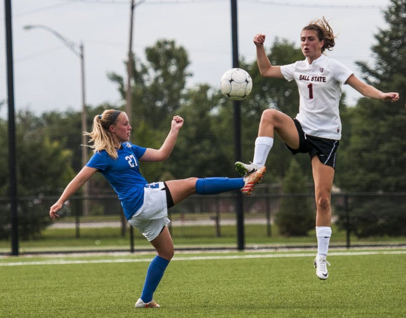 SOCCER: Ball State defeats IPFW, Sottner scores 1st career goal