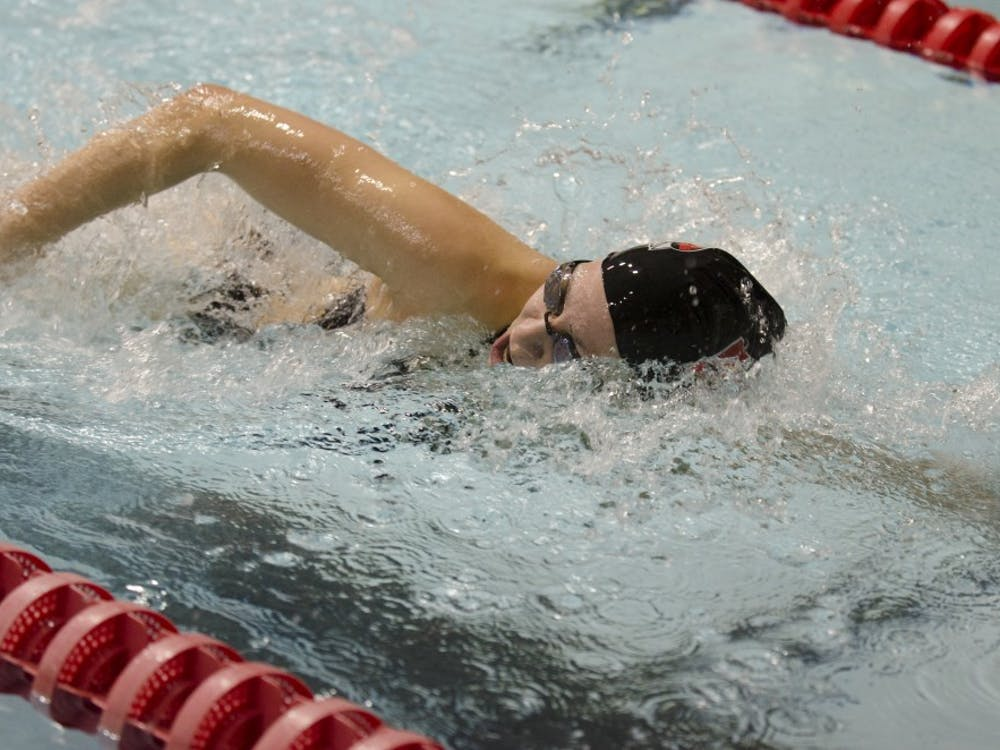 Ball State's women's swimming and diving team faced Miami University on Nov. 8 at Lewellen Aquatic Center. Ball State lost 173-125.
