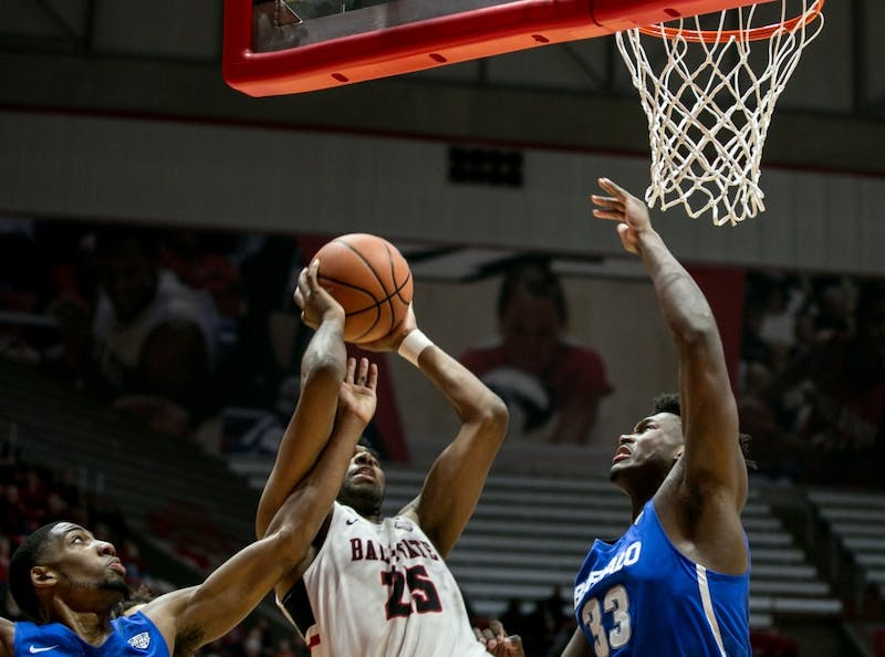 Ball State men's basketball failed to finish in the paint in 83-63 loss to Buffalo