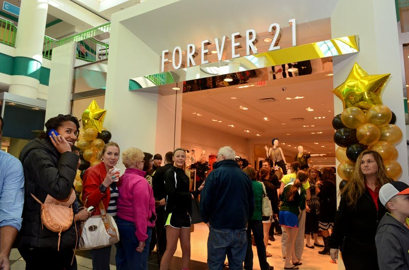 The Forever 21 store is seen on opening day at the Carousel Center, now known as Destiny USA. (TNS, Photo Courtesy)