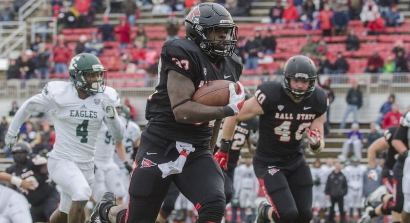 FOOTBALL: Ball State defeats Eastern Michigan on Senior Day