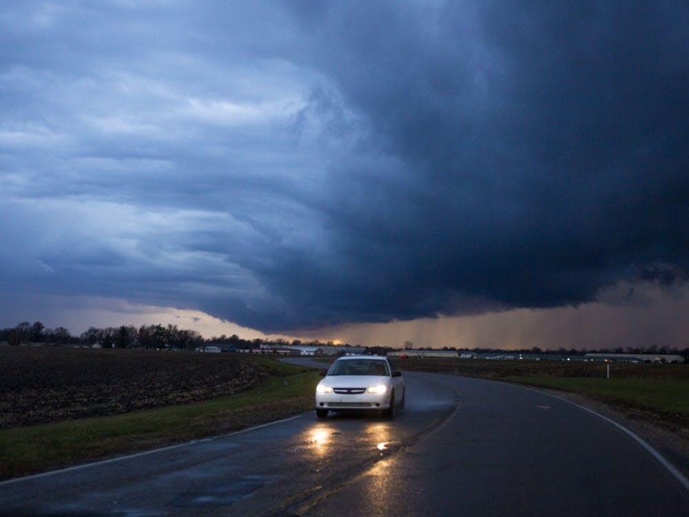 A series of submitted photos from storms rolling across Central Indiana.