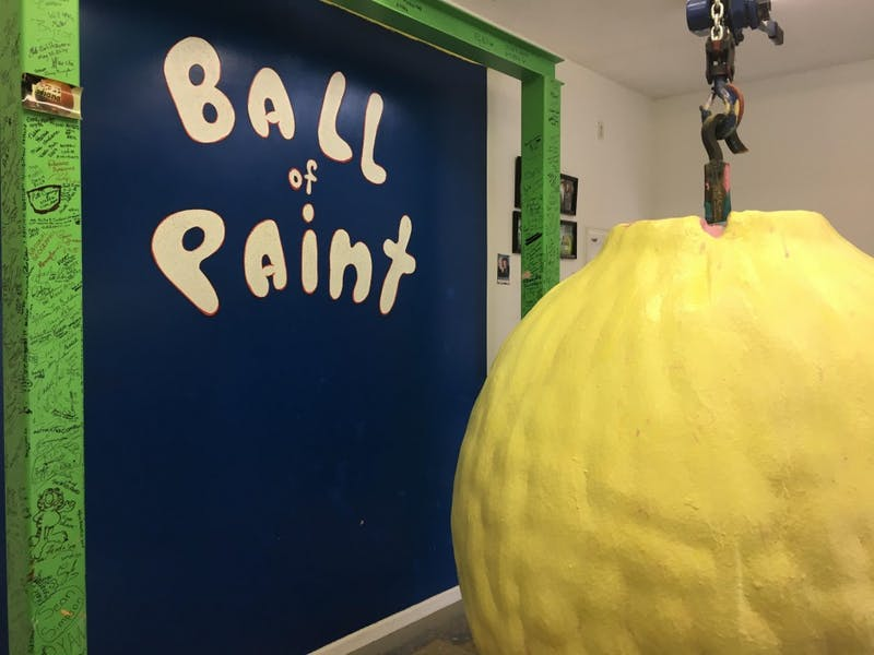 Adult-ish: The Big ole ball of paint