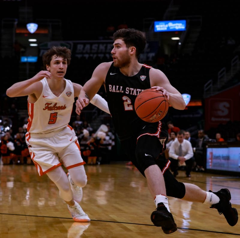 Ball State Men's Basketball seniors shine in final game despite loss