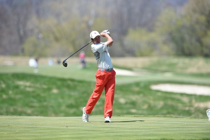 Men's golf finishes seventh in Mason Rudolph Invitational