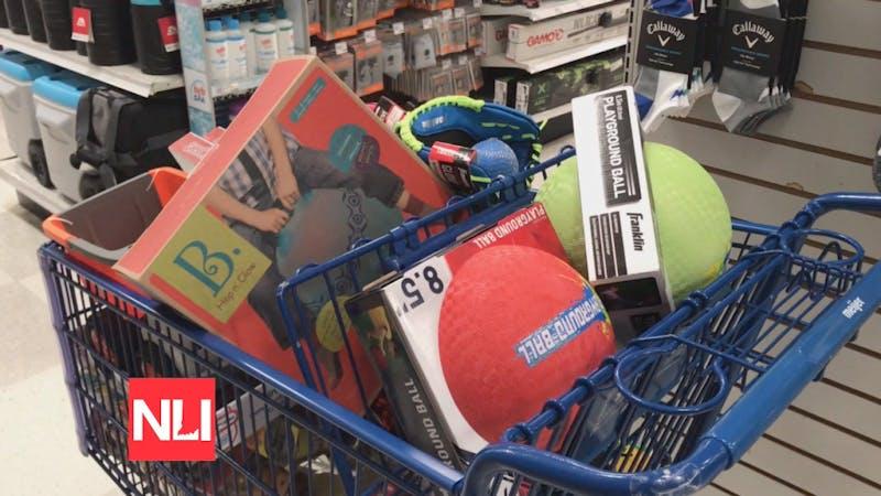 Muncie cops go shopping for community toy box