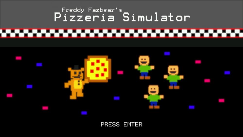 Image from 'Freddy Fazbear's Pizzeria Simulator'