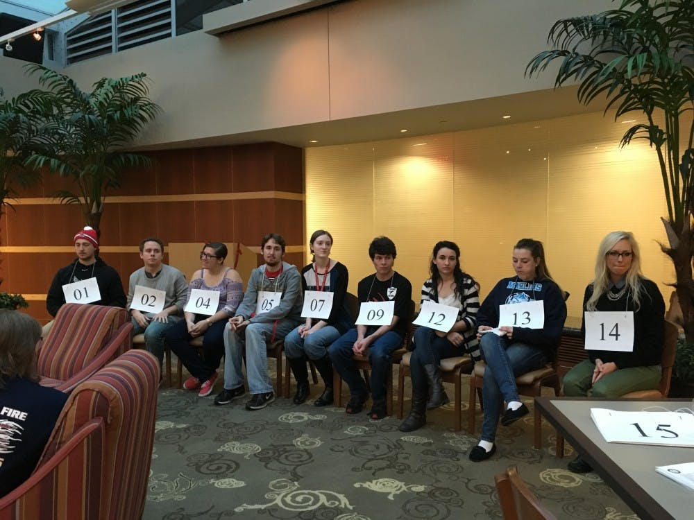 Ball State has a few official honor society chapters, including Phi Kappa Phi Honor Society and National Society of Collegiate Scholars. Another is Golden Key International Honor Society, which hosted a spelling bee in DeHority Complex earlier this year. DN FILE PHOTO MICHELLE KAUFMAN