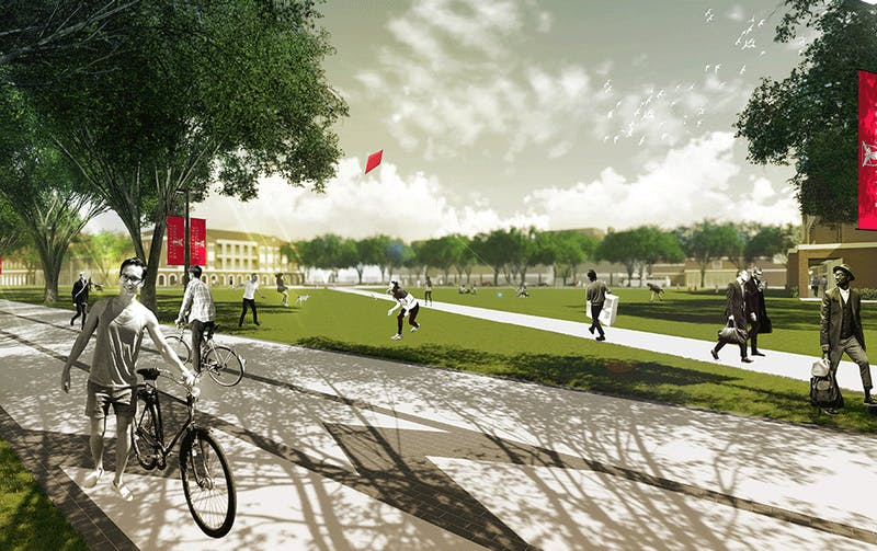 Newly approved Campus Master Plan to connect, improve campus