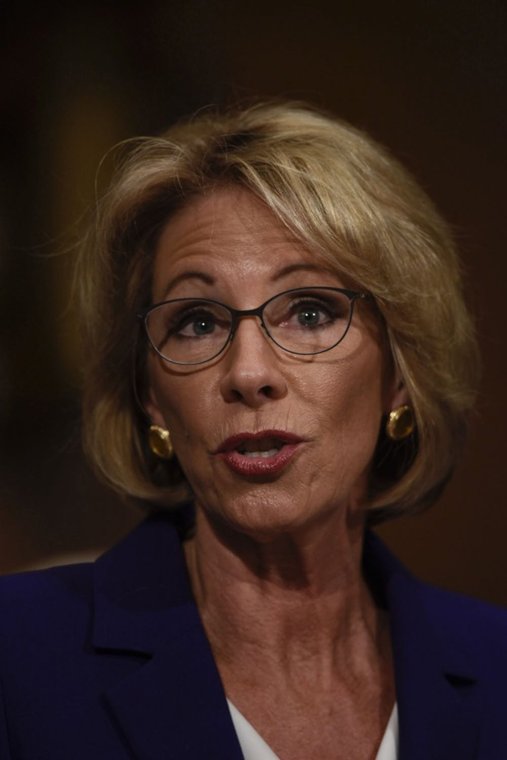 DeVos confirmed as education secretary as Pence breaks tie