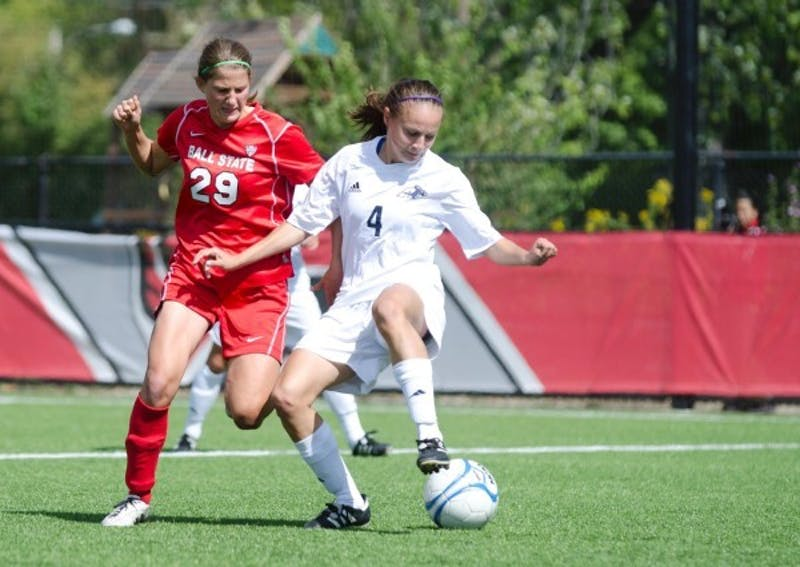 SOCCER: Ball State player more than just a defender