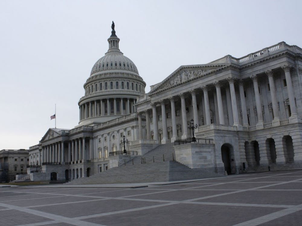 The East Front of the United States Capitol Building in Washington, D.C., on Dec. 25, 2018. The government has been partially shutdown for 34 days as of Jan. 24. TNS Photo