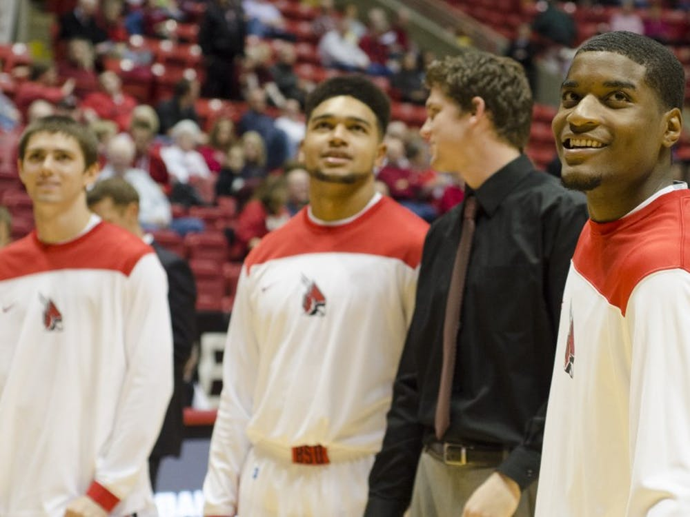 The Ball State men's basketball team took on Taylor University on Nov. 12 at Worthen Arena. Ball State won 73-53.