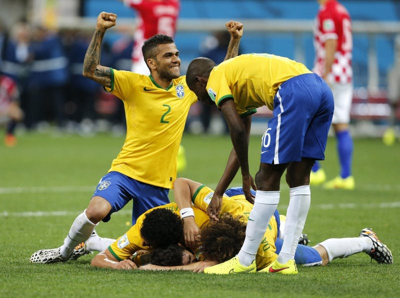 Brazil defeats Croatia in World Cup opener