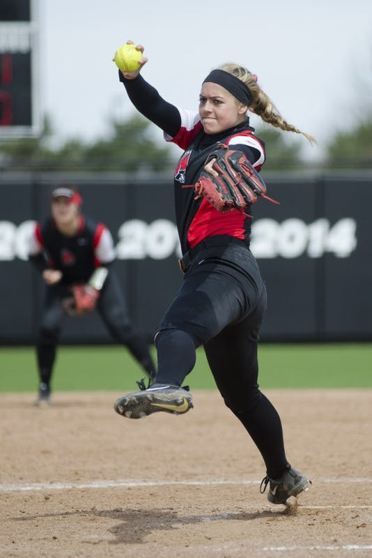 Carolyn Wilmes finds success with Ball State softball through routine, support system