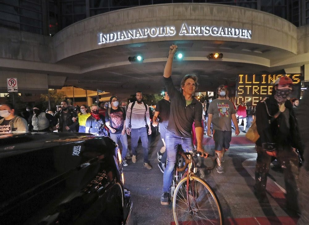 Indianapolis imposes curfew after 2 nights of violence
