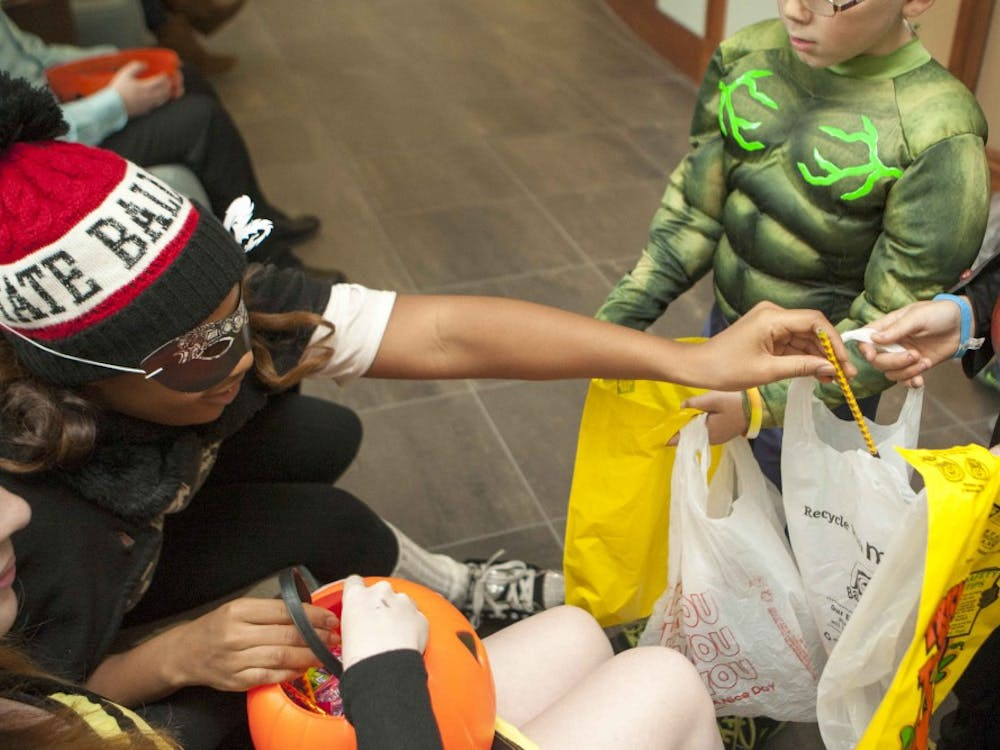 Dormsopened their doors for Trick-or-Treaters on Oct. 30 on campus.