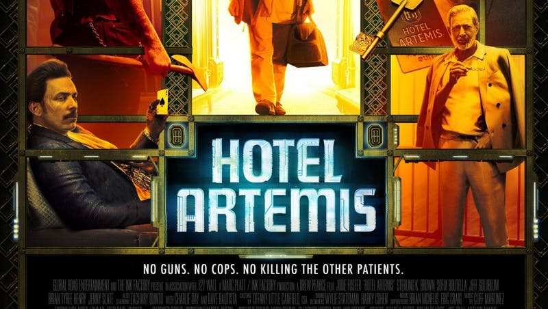 Hotel Artemis: An excellent crime thriller aided by a colorful ensemble cast