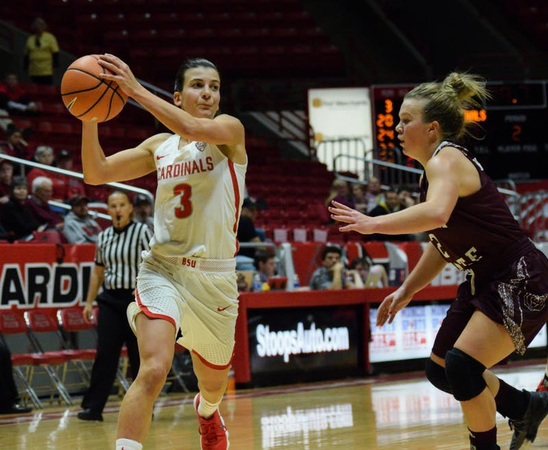 Ball State women's basketball outlasts Akron