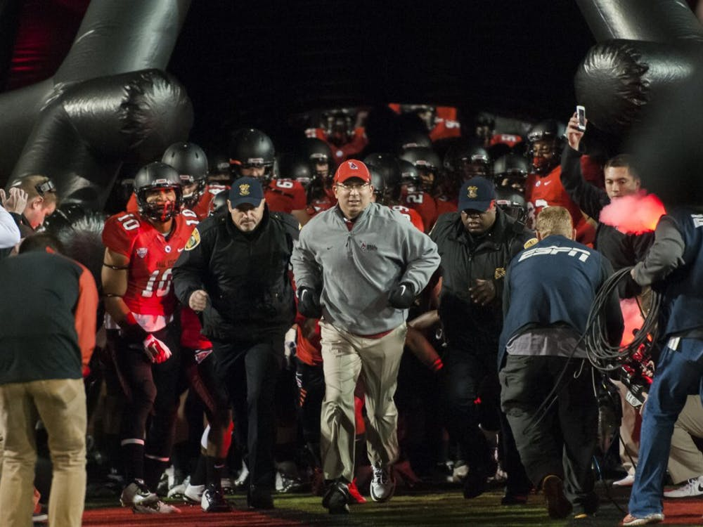 Ball State faced Northern Illinois for the sixth straight year on Nov. 5 at Scheumann Stadium.Ball State lost the game 35-21.