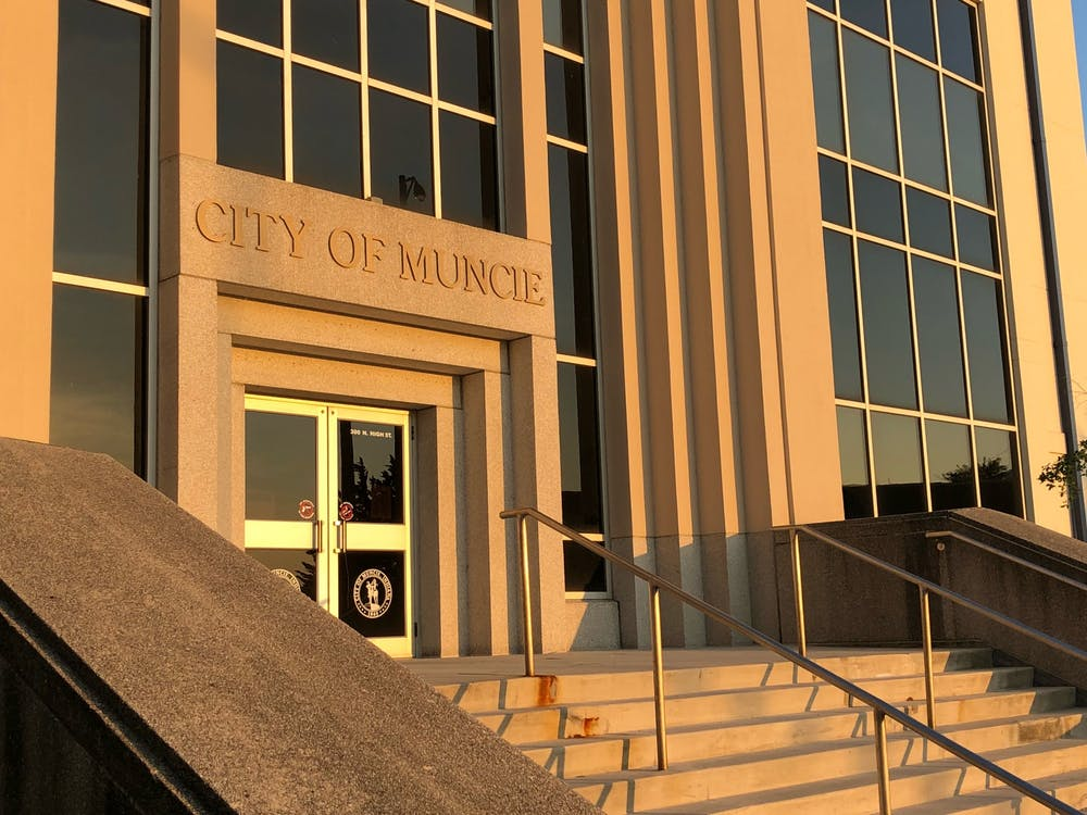 Muncie City Council held a special board meeting March 23, 2020. Due to Indiana Gov. Eric Holcomb's executive order issued in response to the global COVID-19 pandemic, the meeting was held over a teleconference platform. Andrew Smith, DN File