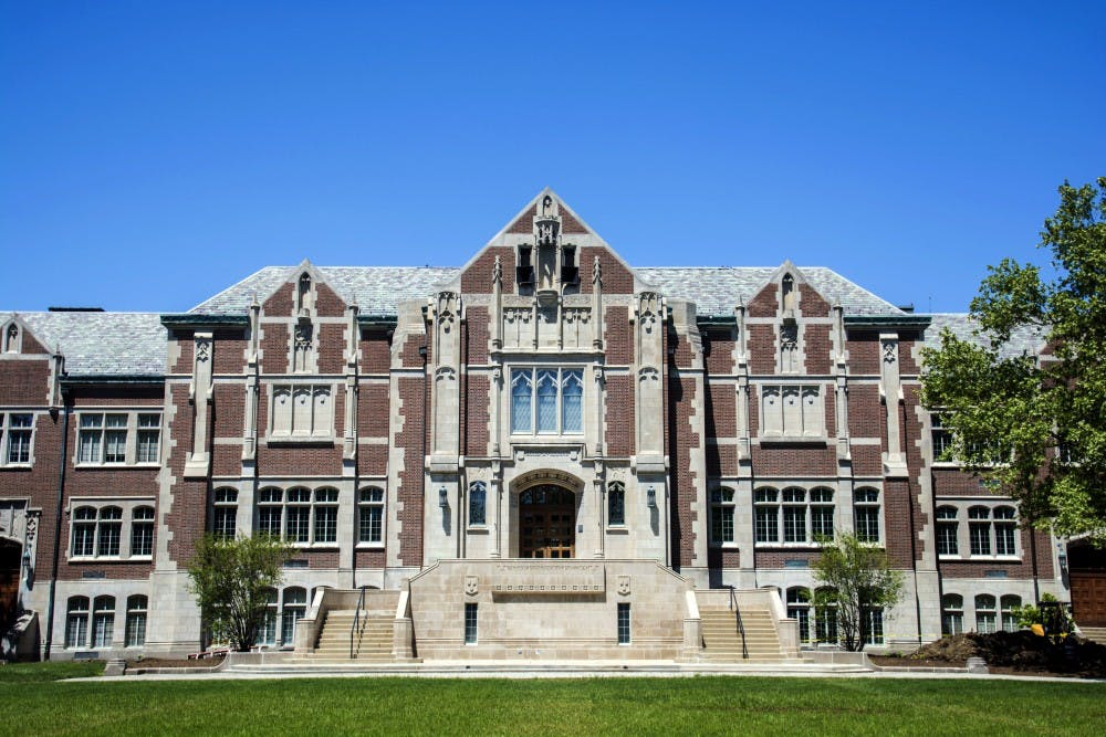 <p>The College of Fine Arts was founded in 1935. It currently houses the David Owsley Museum of Art and its 11,000-piece collection. <strong>Samantha Brammer, DN File</strong></p>