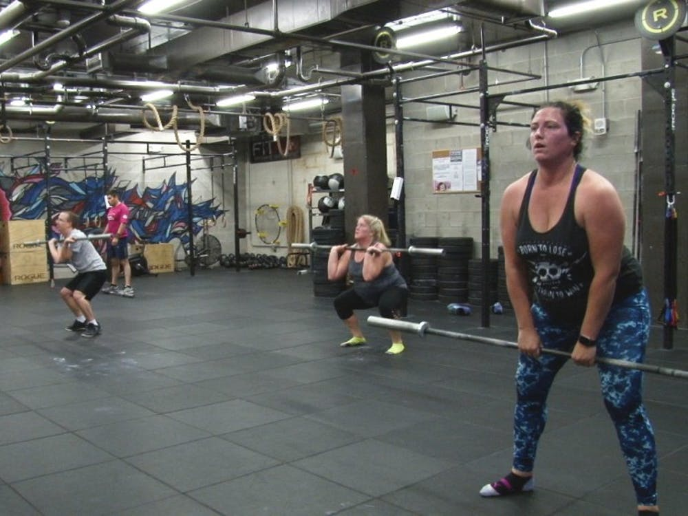 The CrossFit White River gym offers members a new approach to working out. The gym is located in the basement of the Village Promenade Apartments. Jake Thomas, DN Photo