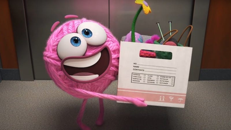 'Purl' reflects Pixar's own workplace struggle