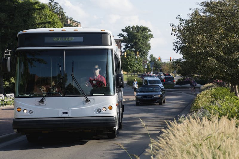Transportation Services has its own lost and found system for items left on campus buses. The items stay in the system for approximately 30 days andare logged into an Excel spreadsheet,which lists the item, what day and bus it was found on as well as the approximate time it was found. Samantha Brammer // DN File