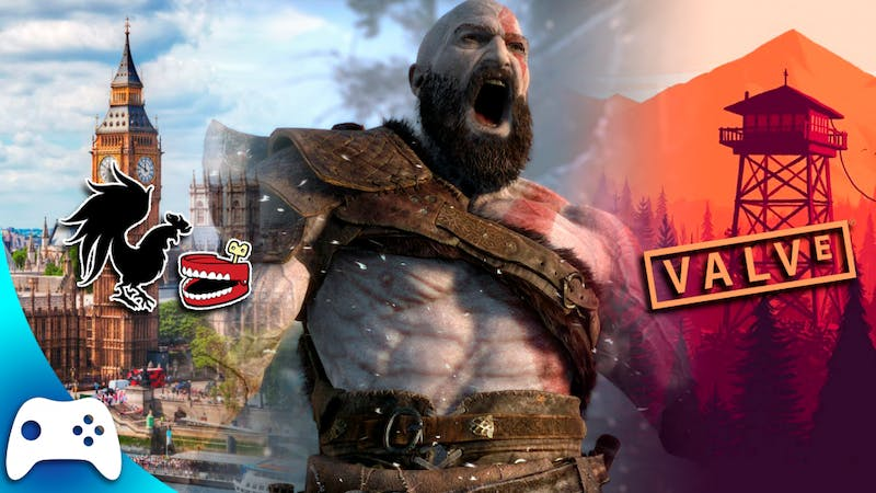 God of War Update, Rooster Teeth Expanding to London, Valve Acquiring Campo Santo | Checkpoint