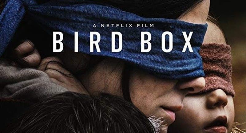 'Bird Box' uses an interesting premise to tell a painfully average story